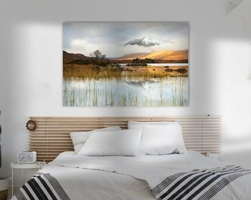 Stilte in Rannoch Moor van Daniela Beyer