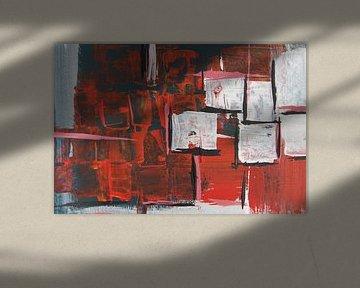 Geheimnisvoll - Ausschnitt - Rot von Susanne A. Pasquay