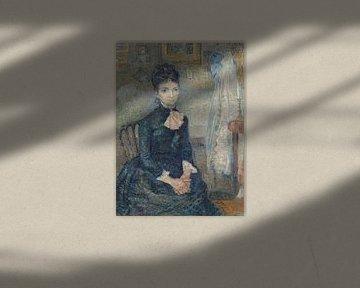 Porträt von Leonie Rose Charbuy-Davy, Vincent van Gogh