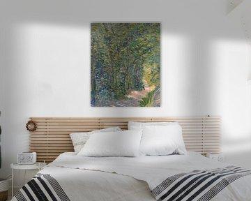Pfad im Wald, Vincent van Gogh