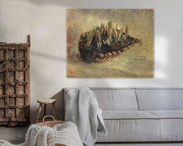 Stillleben mit einem Korb voller Krokusse, Vincent van Gogh
