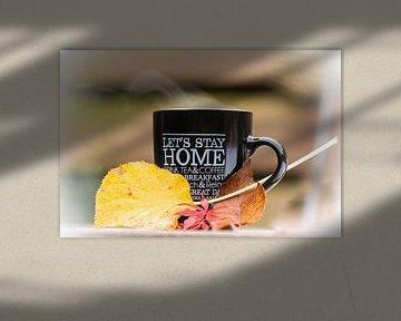 warmer Kaffee, kalter Herbst von Tania Perneel