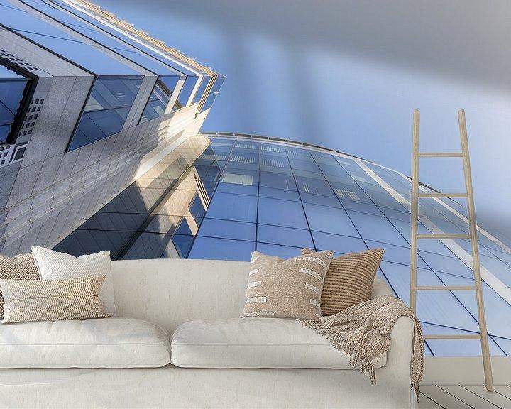 Sfeerimpressie behang: Moderne architectuur 2 van Mark Bolijn