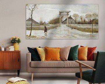 Zugbrücke in Nieuw-Amsterdam, Vincent van Gogh