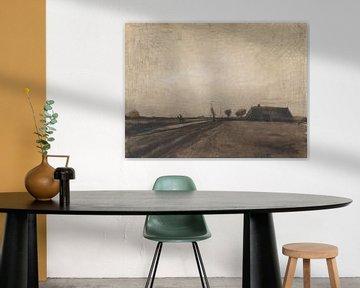 Drents landschap, Vincent van Gogh, Drenthe