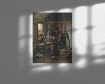 Mann wickelt Garn, Vincent van Gogh