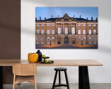 Amalienborg, Kopenhagen, Dänemark