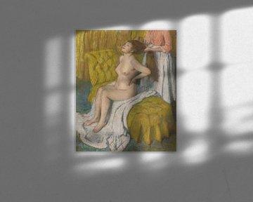 Frau lässt sich die Haare kämmen, Edgar Degas