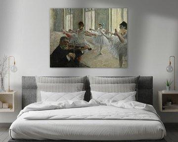 Die Probe, Edgar Degas.