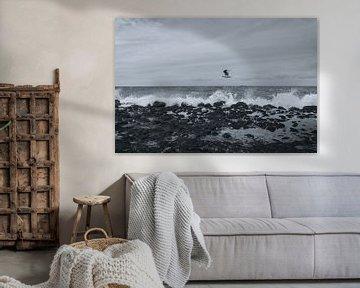 Stormachtig weer aan het strand van Stedom Fotografie