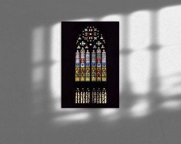 Kölner Dom Buntglasfenster   Nordquerhaus von Maarten Visser