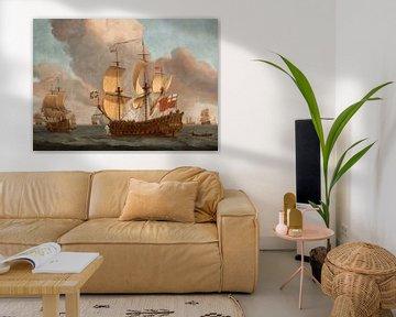 Le HMS York, Willem van de Velde le Jeune