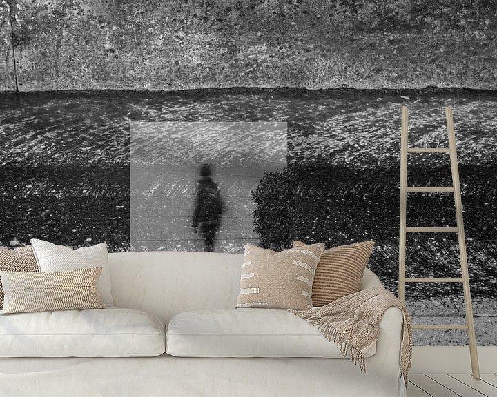 Sfeerimpressie behang: Streetlife 2 van Cor Ritmeester