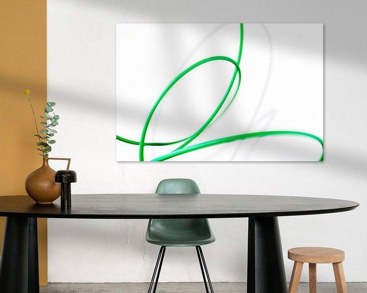 Sfeerimpressie: Bewegend groen 1 van Cor Ritmeester
