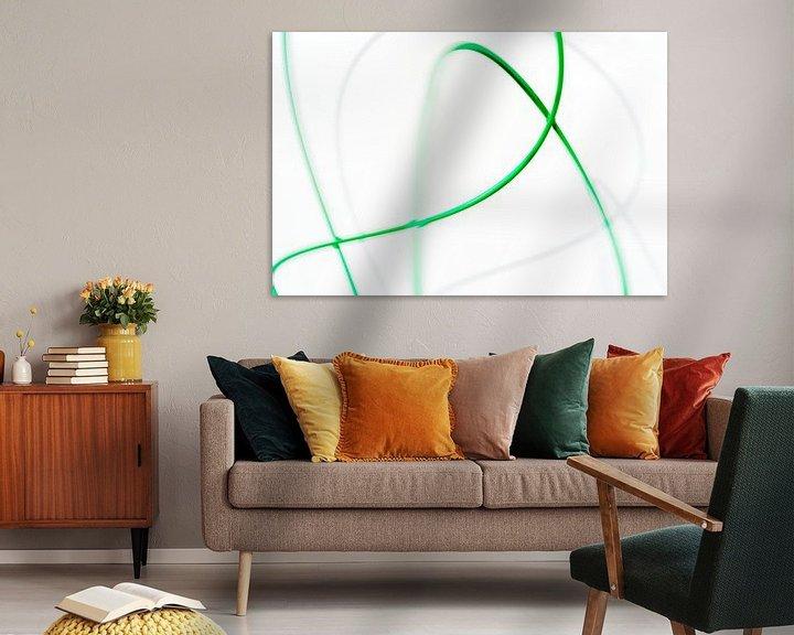 Sfeerimpressie: Moving green 3 van Cor Ritmeester
