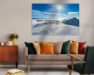 Hochgrat in de winter van MindScape Photography