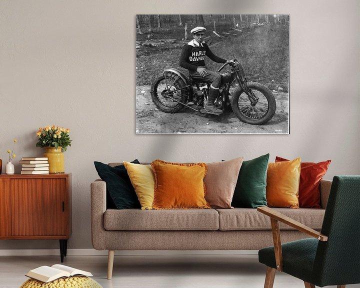 Sfeerimpressie: Hilclimber Harley Davidson van harley davidson