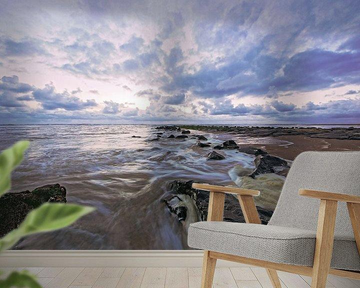 Sfeerimpressie behang: long exposure van Dirk van Egmond