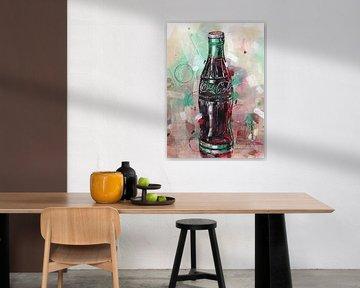 Peinture Coca-Cola sur Jos Hoppenbrouwers