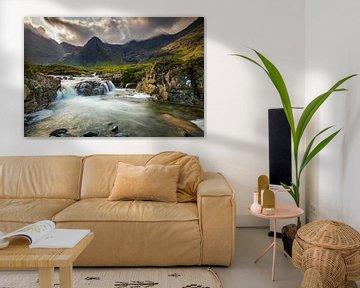 Feenpools, Insel Skye von Antwan Janssen