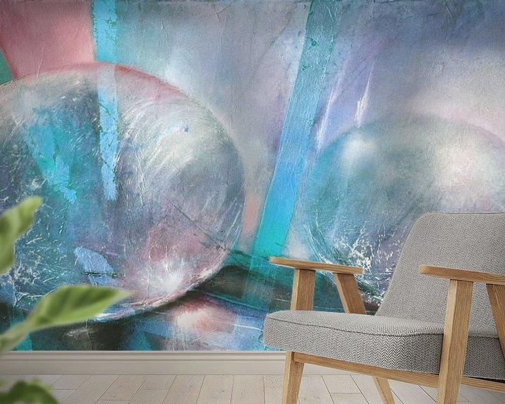 Sfeerimpressie behang: lysshow van Annette Schmucker