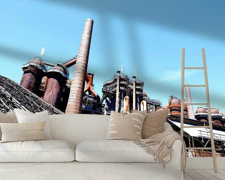 Beispiel fototapete: Produktionsstätte von Micky Bish