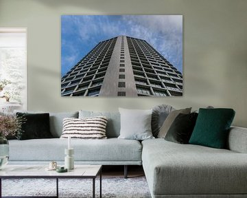 schöne Wohnung aus niedriger Sicht von Patrick Verhoef