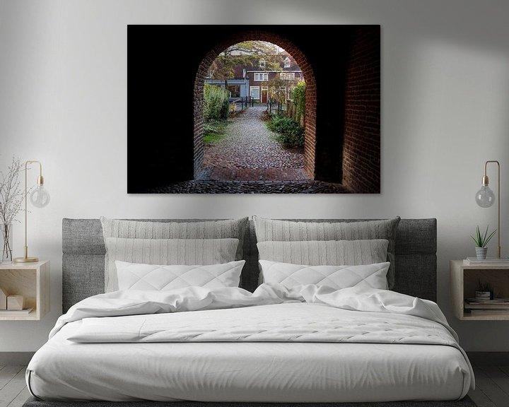 Sfeerimpressie: Poort stadsmuur Amersfoort van Alejandro Vivas
