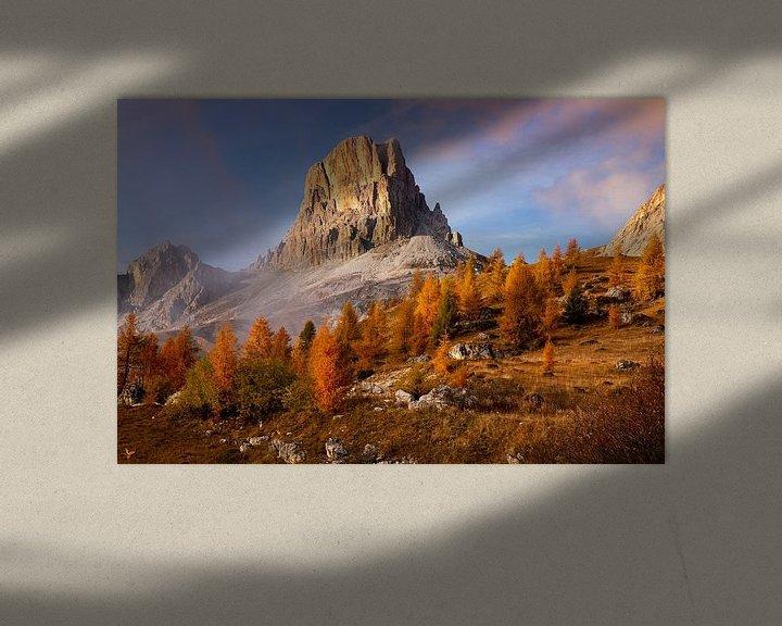 Sfeerimpressie: Gouden Dolomieten Landschap, Italië van Adelheid Smitt