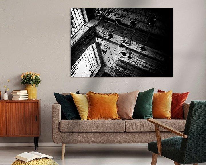 Sfeerimpressie: De witte kamer bij tegenlicht van Cristel Brouwer