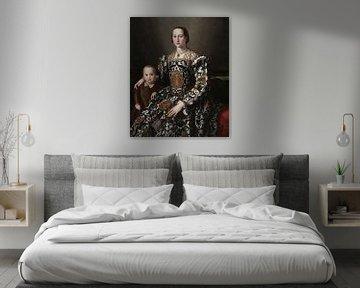 Eleonora von Toledo und ihr Sohn, Bronzino