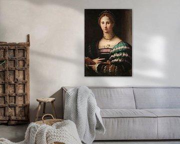 Damenbildnis, Bronzino