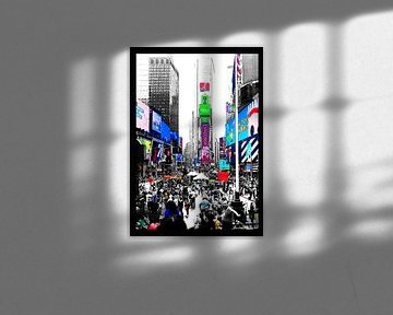 Time Square - New York City von Birgit Wagner