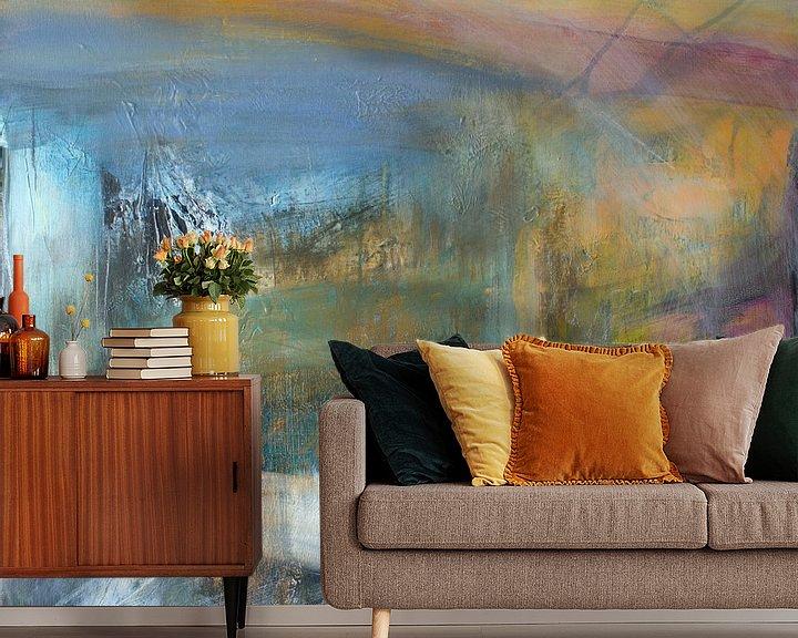 Sfeerimpressie behang: Transformatie 1 van Sylvia Evans
