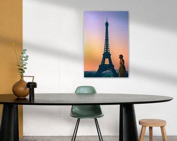 Zonsopkomst in Parijs