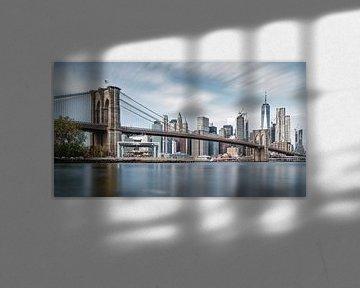 Brooklyn Bridge von Arnold van Wijk