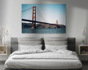 Golden Gate Bridge, San Francisco - U.S.A. van Dylan van den Heuvel