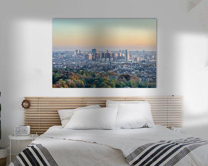 Sfeerimpressie: Skyline van Brussel van Mark Bolijn