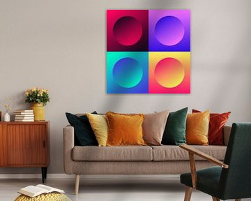 Circle Composition van Harry Hadders