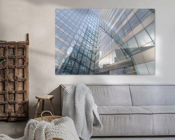 Sfeerimpressie: Architectonische kunst van Mark Bolijn