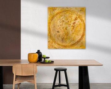 Gelber Kreis von Els Hattink