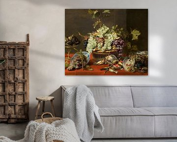 Stillleben mit Trauben und Wild, Frans Snyders