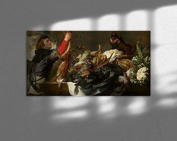 Stillleben mit Huntsman, Frans Snyders