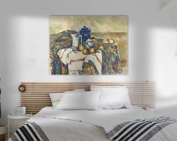 Stilleven met blauwe pot, Paul Cézanne