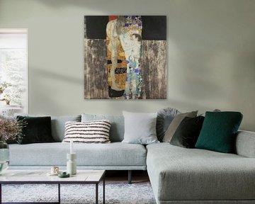 Le tre età, Gustav Klimt