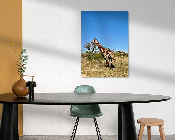 Beispiel: Giraffe von zam art