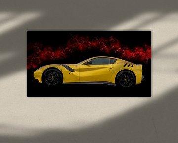 Ferrari Tdf supercar von Atelier Liesjes