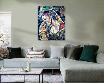A Woman Weeping von zam art
