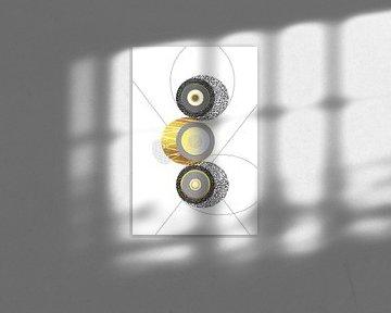 Elegant ontwerp nr. 1 | Goud van Melanie Viola