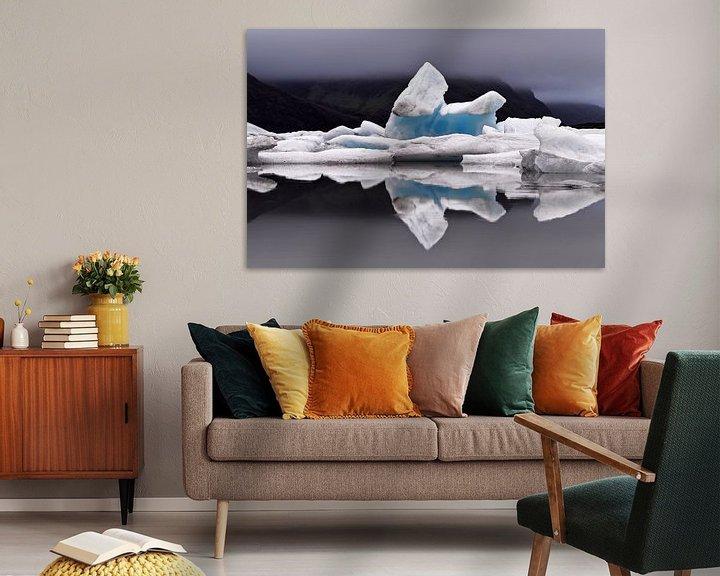Beispiel: Eisformation mit Spiegelung von Ralf Lehmann